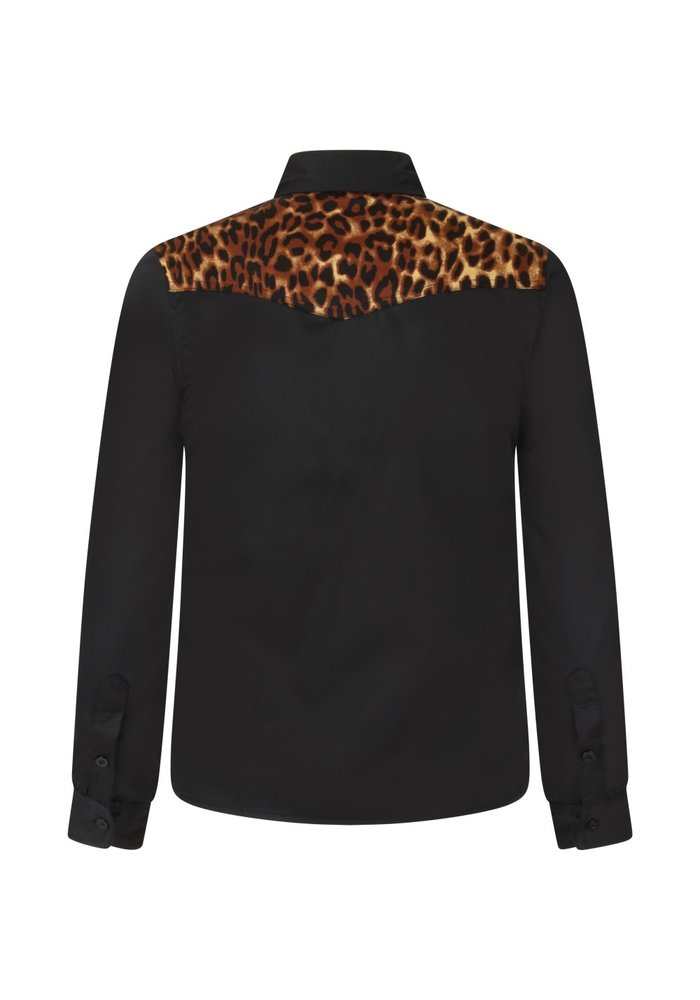 Chemise Rockstar Leopard\Noire