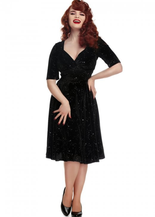 Collectif Robe Trixie Make a Wish Doll