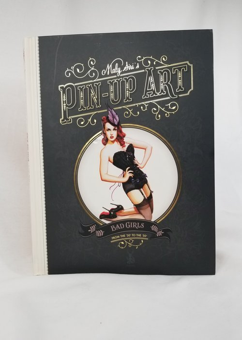 LIvre Pin up Art de Maly Siri