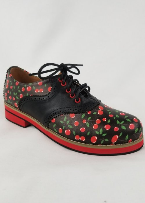 Banned Chaussures Old Soul Dancer Cerises