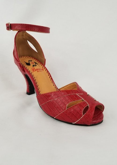 Banned Chaussures Indiscreet Rouges