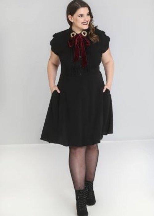 Hell Bunny Robe Madonna noir +