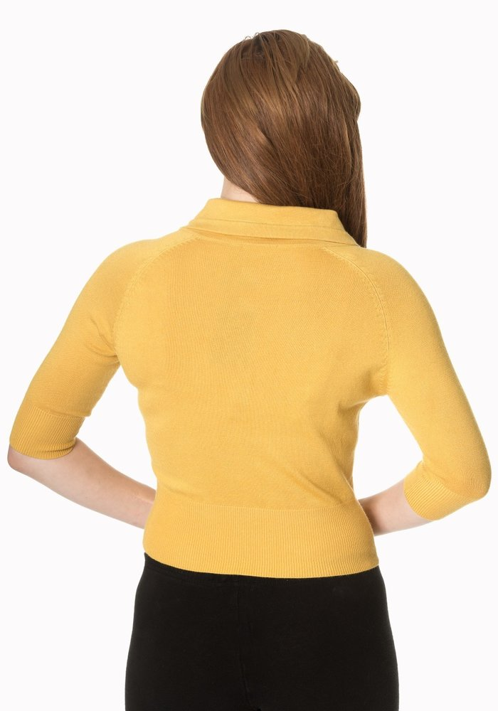 Mustard April Cardigan