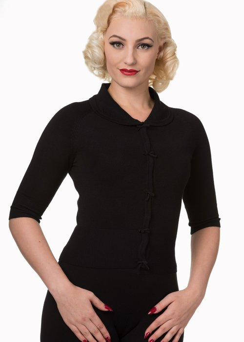 Banned Cardigan April Noir