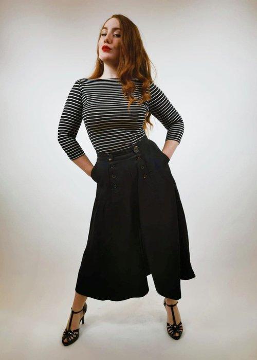 Hell Bunny Pantalons Culotte Murphy