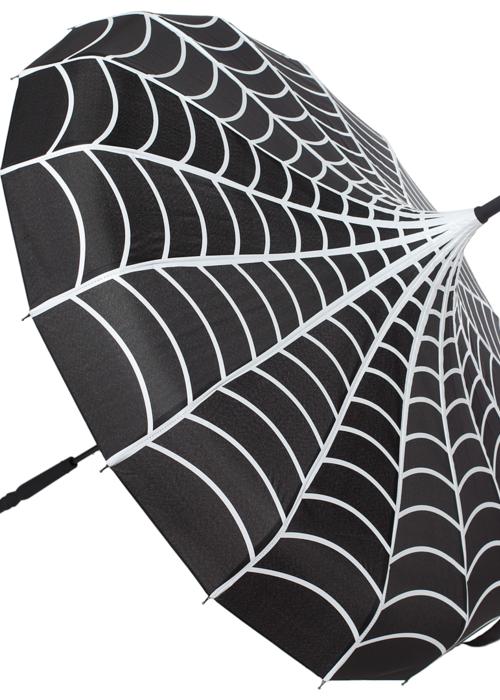 sourpuss Parapluie Pagode Toile D'araignée