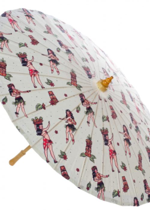 sourpuss Hula Girl Parasol