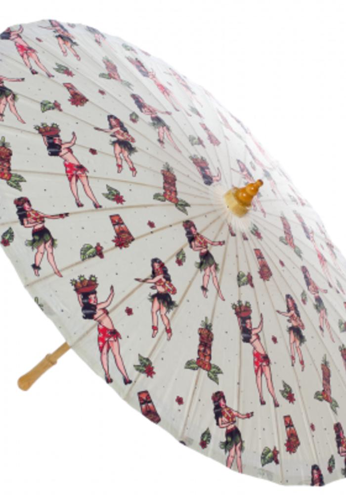 Hula Girl Parasol