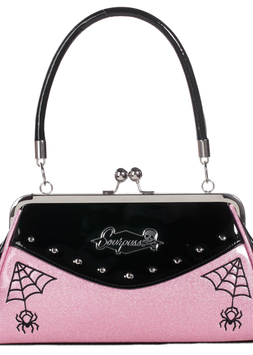 sourpuss Sac Webbed Widow Rose