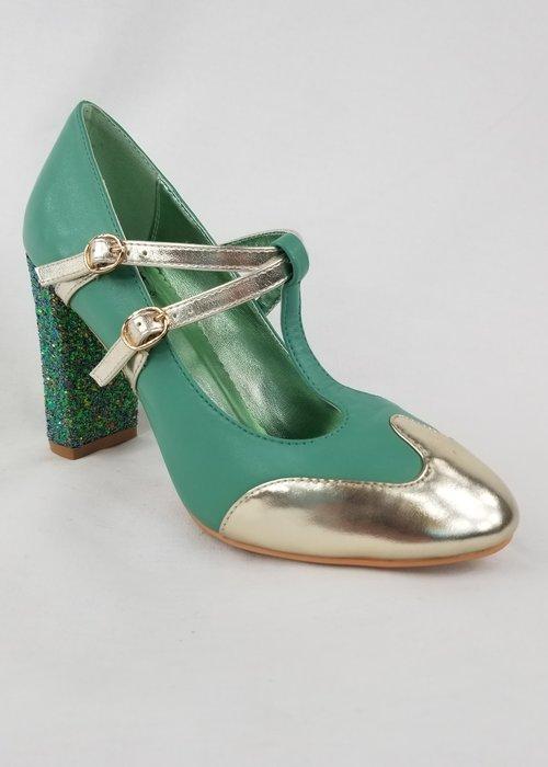 Banned Chaussure Modern Love Aqua