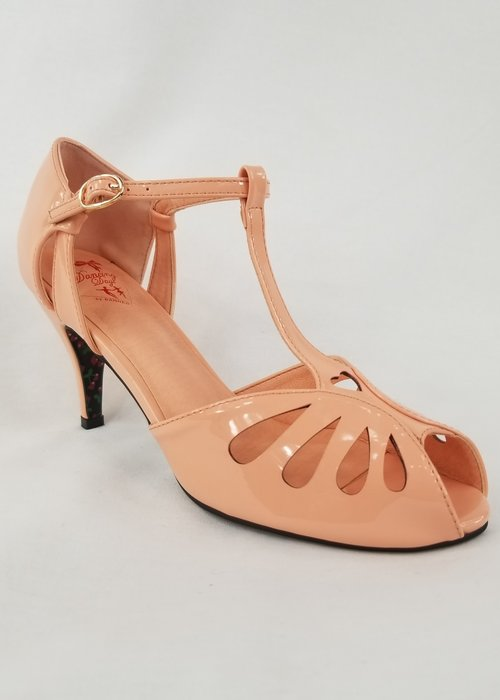 Banned Chaussure Secret Love Rose