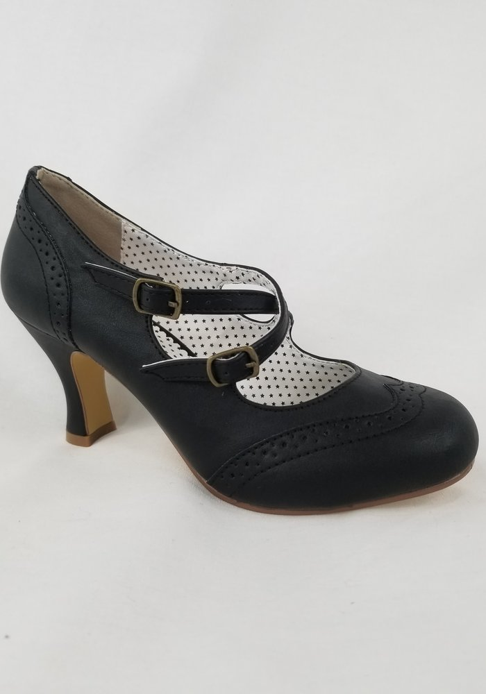 Chaussure Flapper Noire