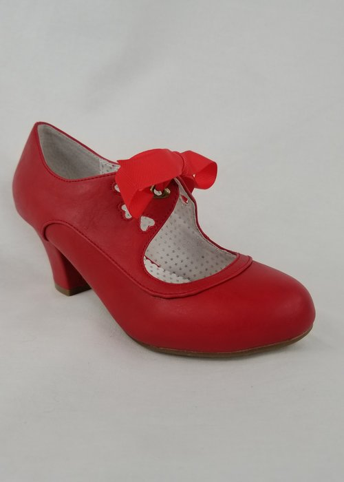Pin-Up Couture Chaussure Wiggle Rouge