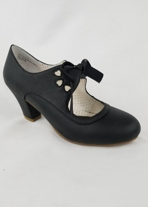 Pin-Up Couture Chaussure Wiggle Noire