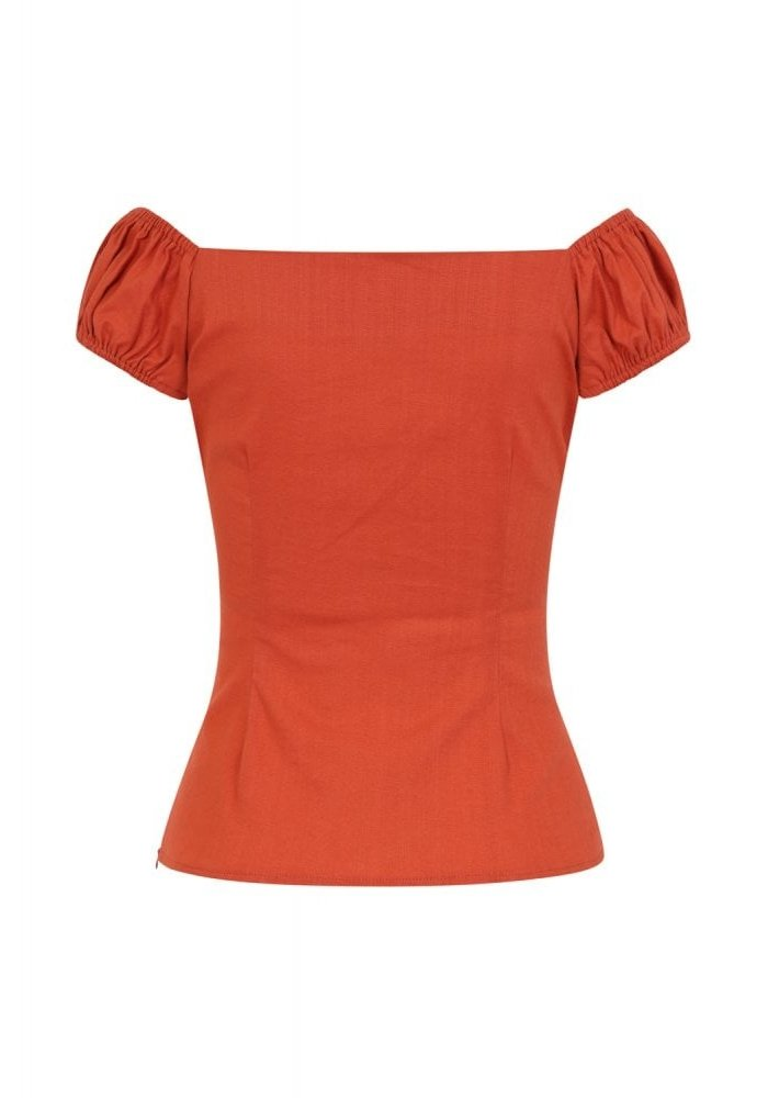 Top Dolores Orange Brûlé