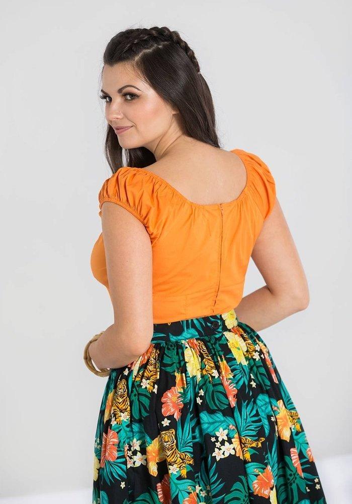 Top Melissa Orange