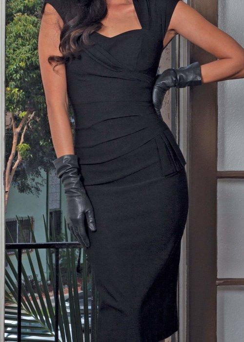 Stop Staring ! Robe Uma Noir