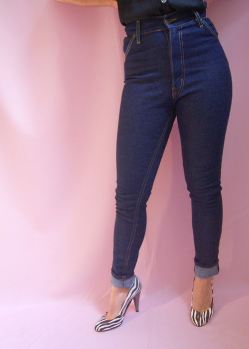 "Lady K Loves Jeans Polly 27"" Bleu"