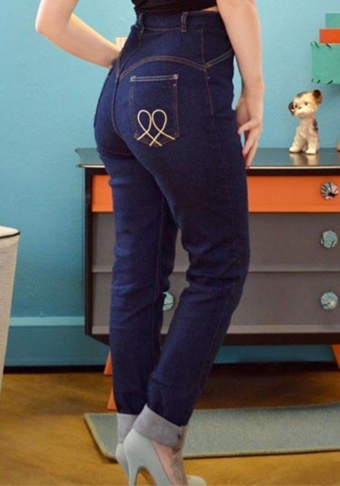 "Jeans Hug Me Baby Bleu 32"""