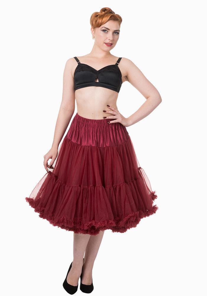 Starlite Burgundy Petticoat
