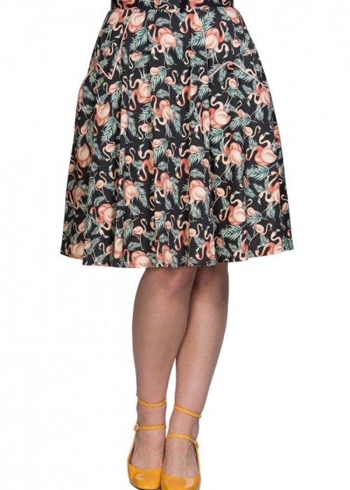 Banned Flamingo Honnie Skirt +