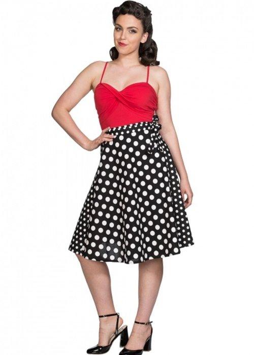 Banned Polka Mix Skirt