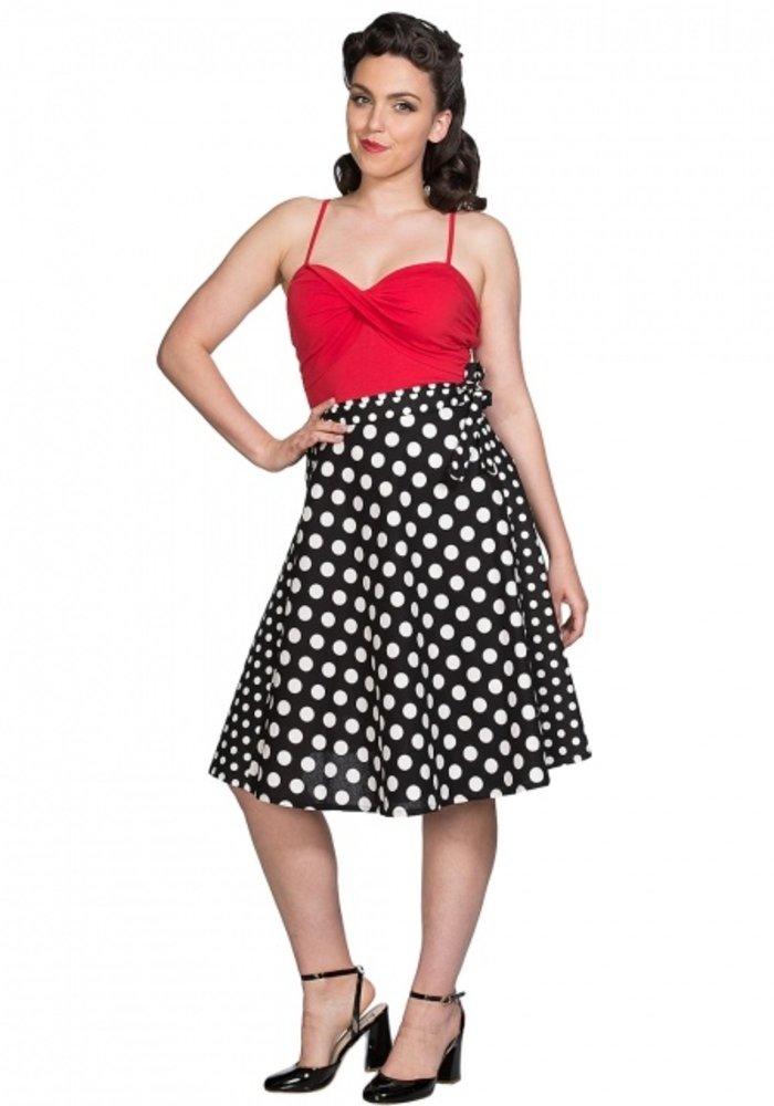 Polka Mix Skirt