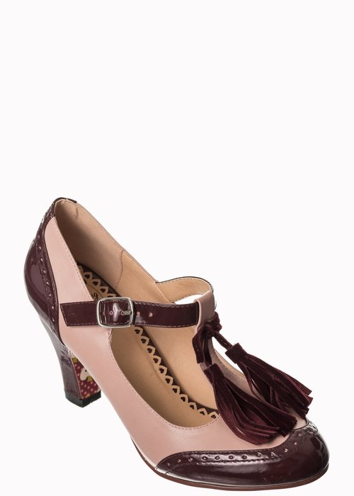 Banned Chaussure Baby Loves That Way Bourgogne\Rose