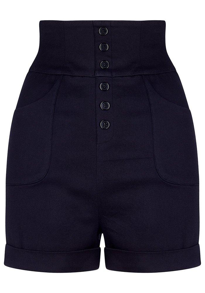 Nomi Plain Black Short +