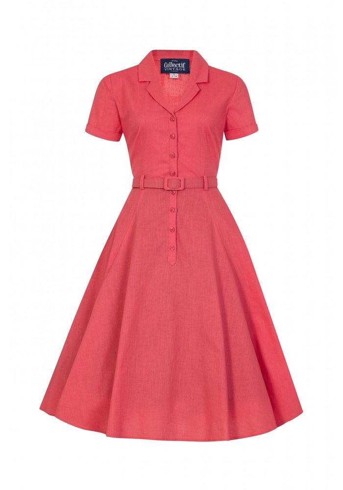 Robe Caterina Vintage Corail +