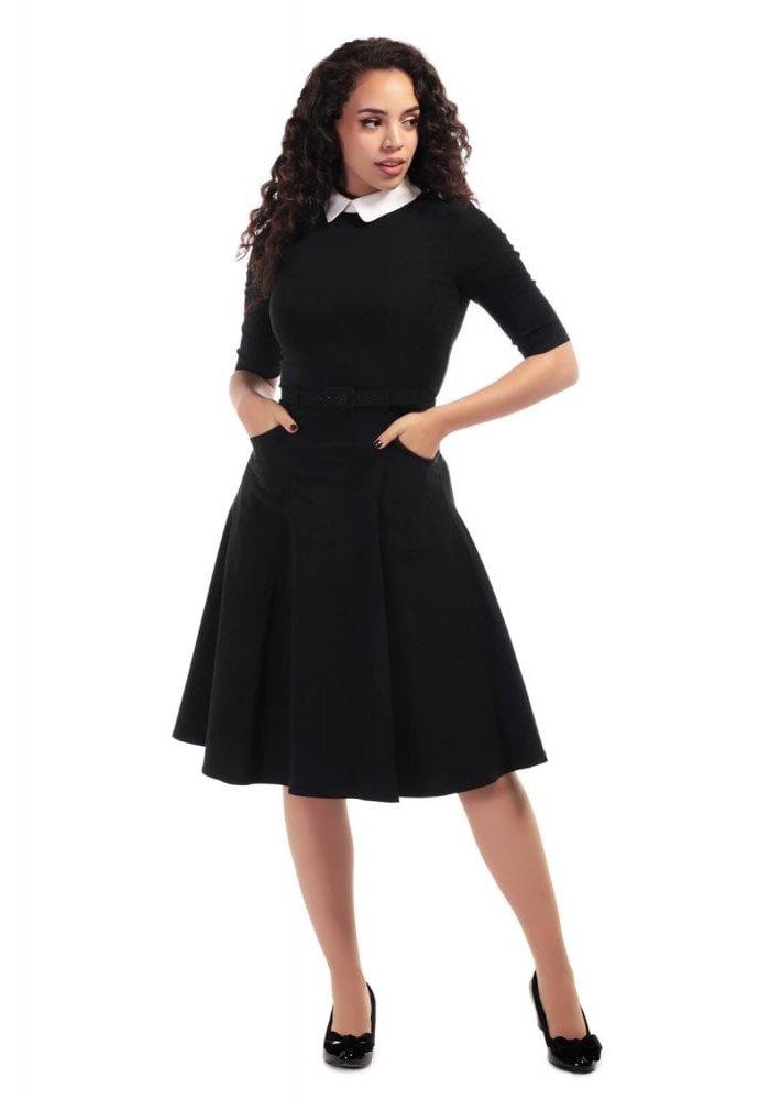 Winona Swing Black Dress