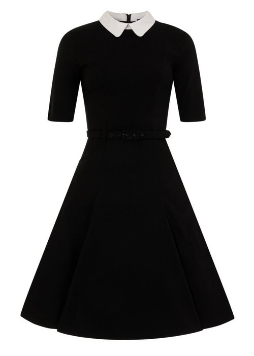 Collectif Winona Black Swing Dress +
