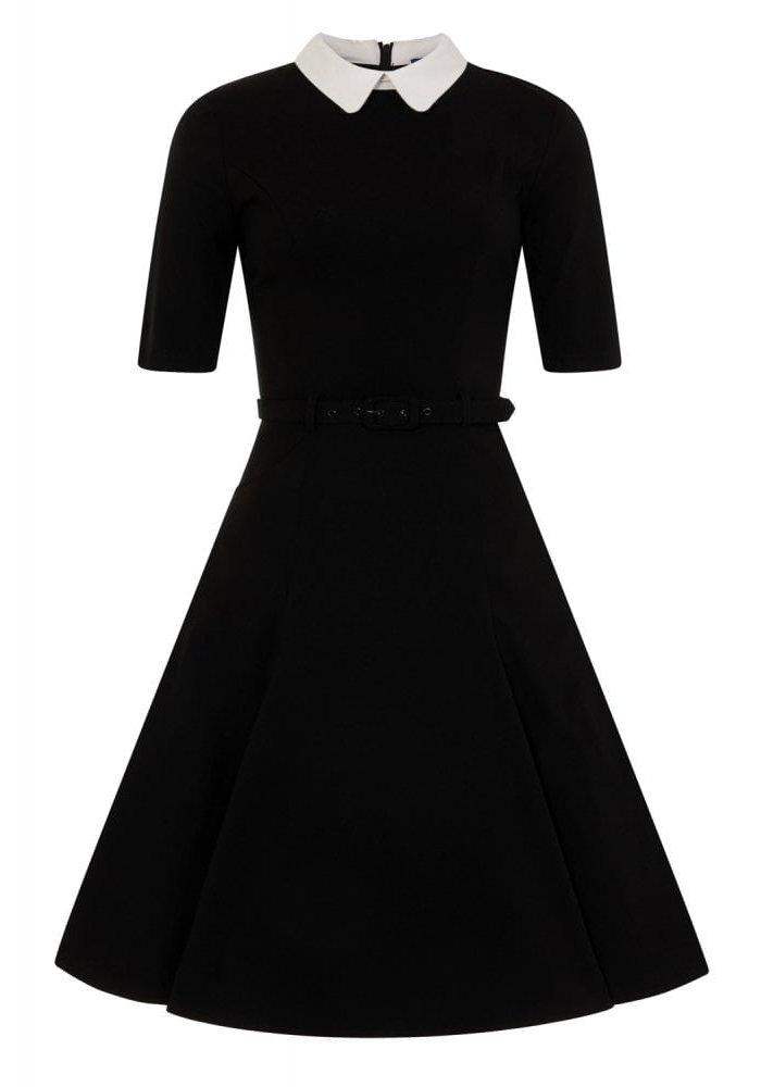 Robe Winona Évasée Noire +