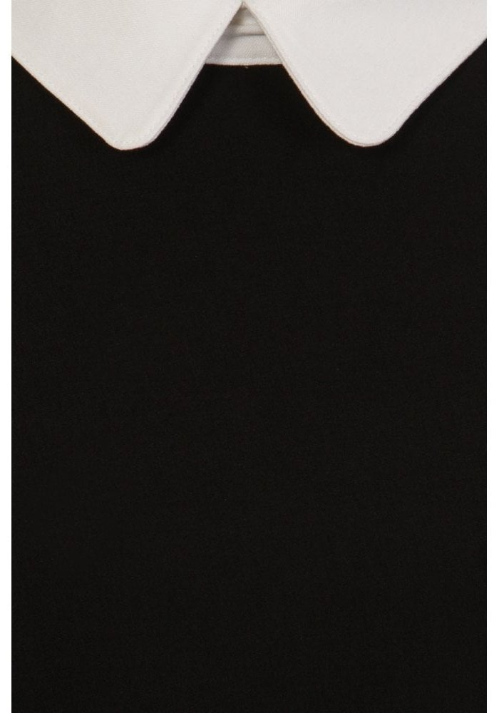 Winona Black Swing Dress +