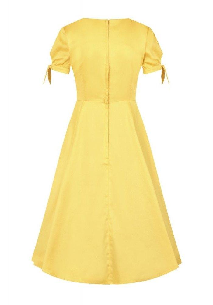 Stephanie Fruits Yellow Dress