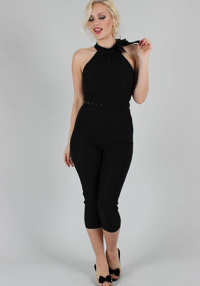 Barbs Black Jumpsuit