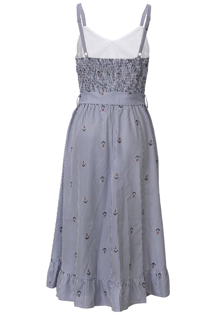 Andy Anchor Blue Dress