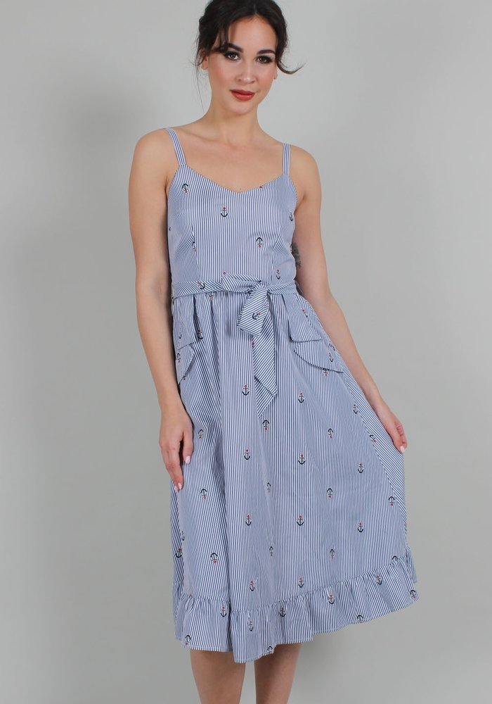 Andy Anchor Blue Dress +