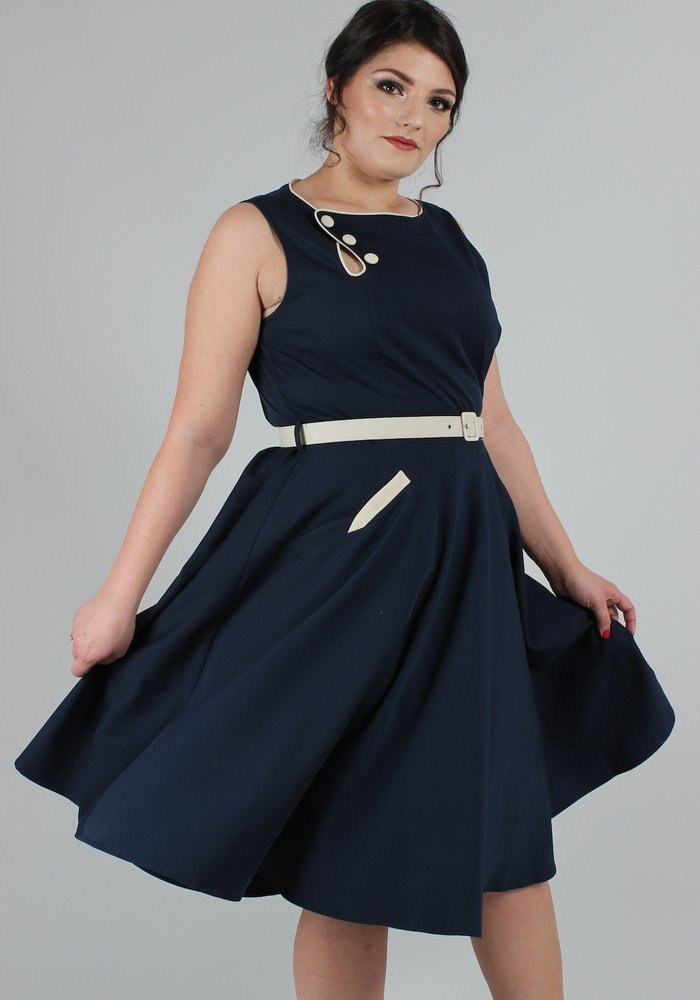 Sailor Nyla Navy Dress +