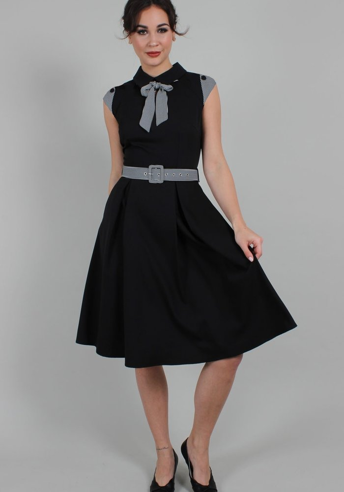 Bonny Skater Black Dress