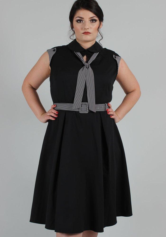 Beth Sailor Dress blk
