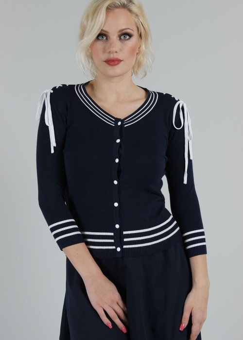 Voodoo Vixen Sail Away Anchor Cardigan