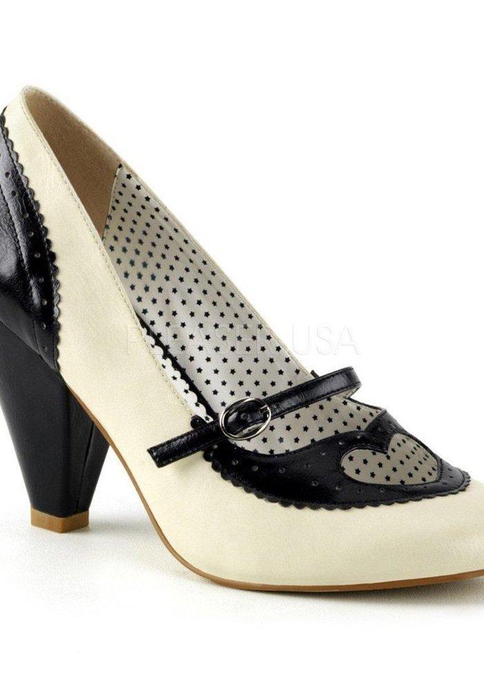 Chaussure Poppy Noire et Blanche