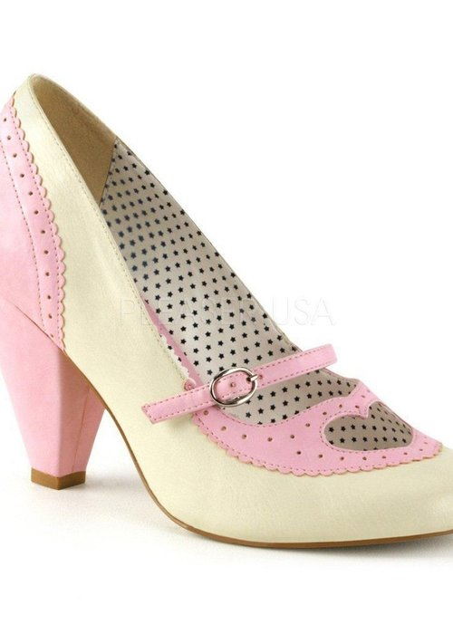 Pin-Up Couture Chaussure Poppy Rose