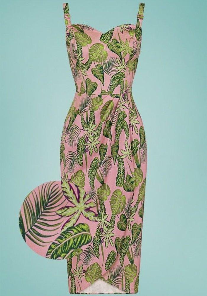 Pink Mahina Forest Dress