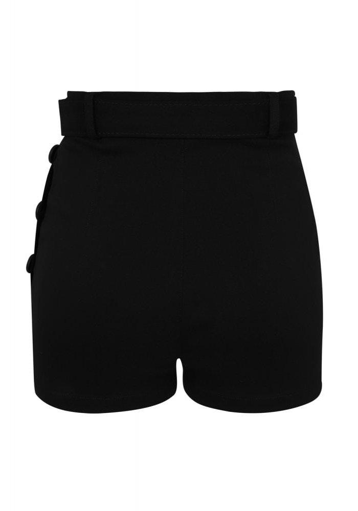 Black Gertrude Shorts  +