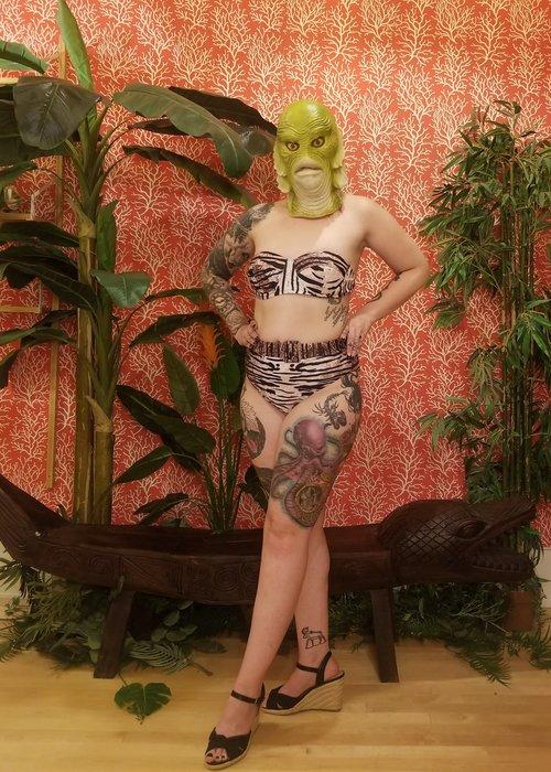 Kitsch'N Swell Top Bikini Tigré