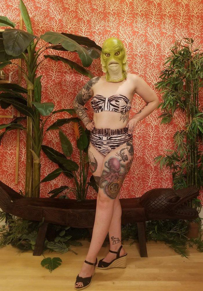 Tiger Bikini Top