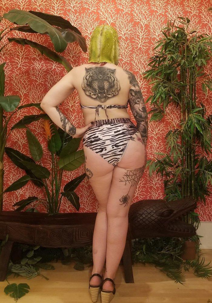 Bas Bikini Tigré