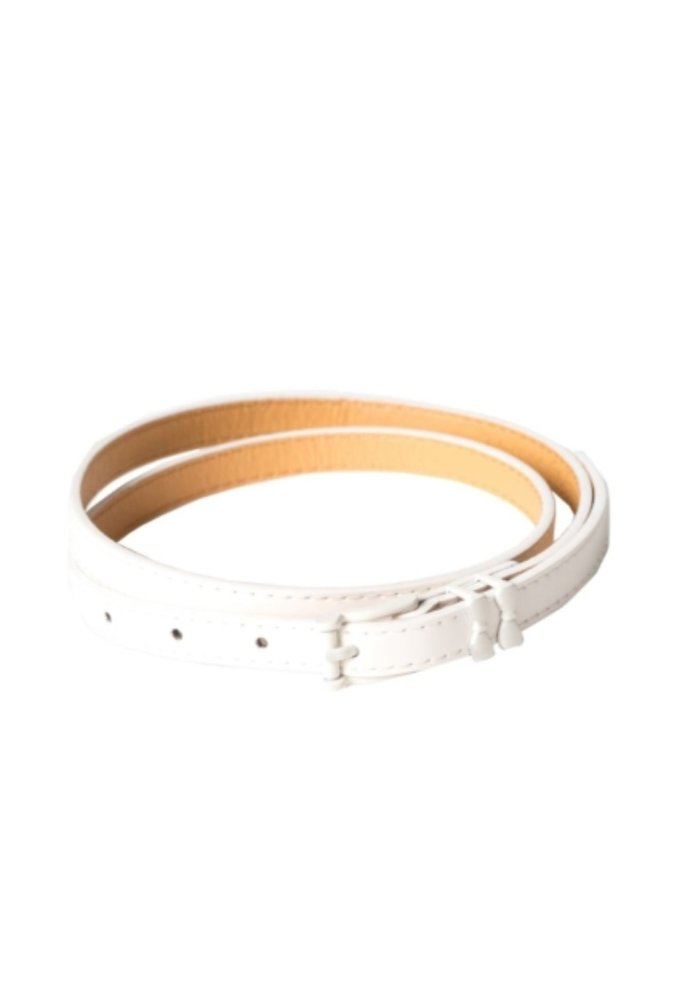 Come Back Belt White